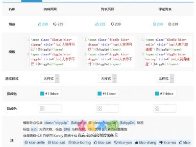 Z-Blog for PHP 顶踩插件 KandyDigg 发布及更新