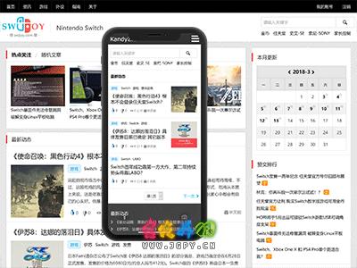 Z-Blog for PHP 仿值得买响应式主题 KandyZhi 发布及更新